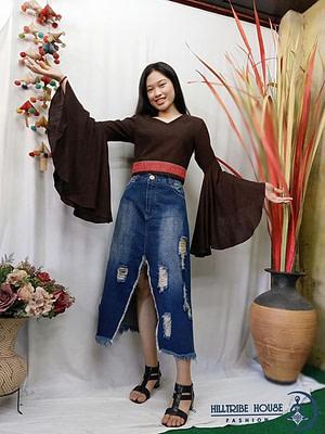 เสื้อสวยเเขนกระดิ่งฟรุ้งฟริ้ง รีดผ้ากาวอย่างดีเพื่อผ้าอยู่ตัวสวย กัญชงฟอกนิ่มเนื้อเด้งพริ้วสวย มีสองsize 36,38 3สี น้ำตาล, ส้ม เหลืองมัสตาด, สวยทุกสีเจ้า รีบจองด่วน ราคาพิเศษ3500บาท ปกติราคา 4500…