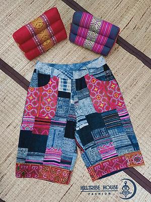 กางเกงผ้าต่อ ผ้าทุกชิ้นที่ใช้ตัดเป็นผ้าที่คัดมาแต่ใยกัญชงเท่านั้นค่ะ เอวกลาง ………….. ขนาดรอบเอว 32 นิ้ว ขนาดสะโพก 40 นิ้ว ต้นขา 25 นิ้ว ปลายขา…